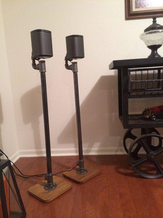 11 Diy Speaker Stand To Get A Perfect Sound Experience - B1F4D42907E84Fbb9B38F474863Aba54