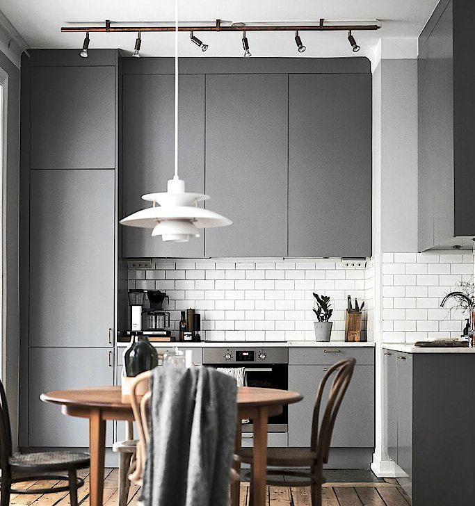 25 Eclectic Scandinavian Kitchen Designs (Let's Bring The Charm!) - B34940Ea62Dcf843E7Dea35F342Bfd94