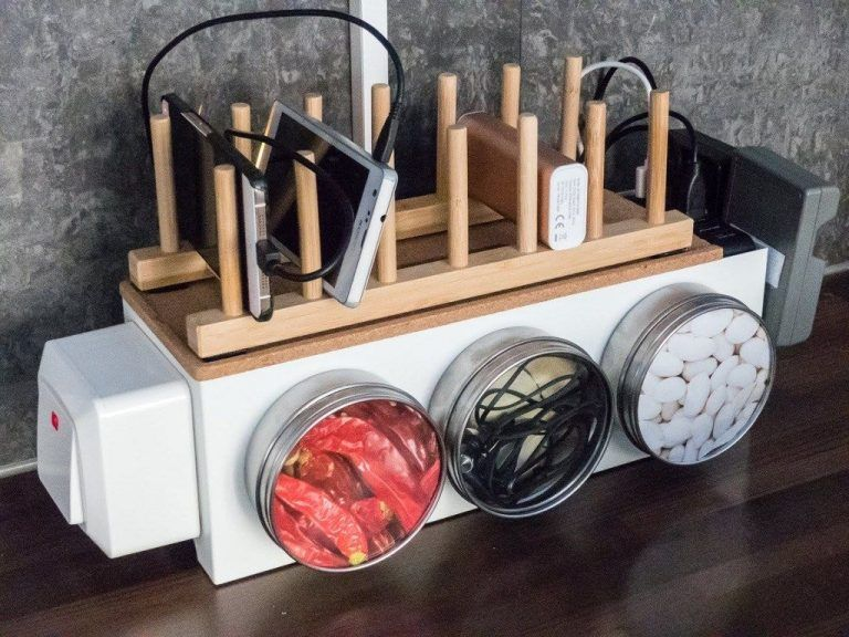 11 Diy Charging Station That Are Easy To Make - B668F19Bb390B52C4Df3F6Cd11Ace5Cd