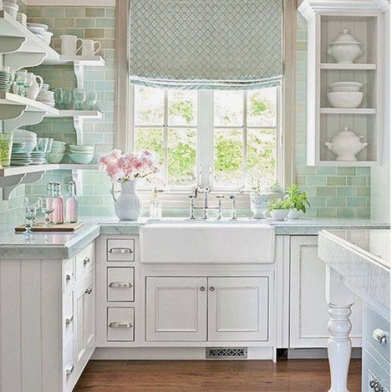 25 Lovely Shabby Chic Kitchen Ideas (Striking Rooms For Cooking) - Baa8C15C141Cee62Ea5E41D39B93B0F6