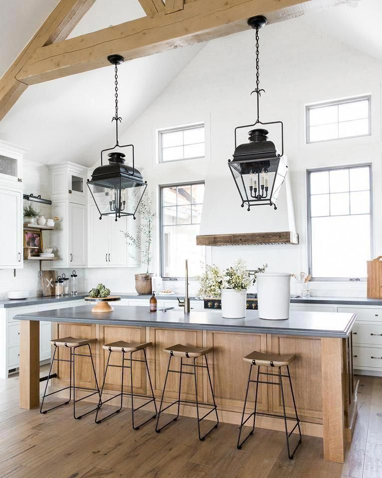 25 Bewildering Farmhouse Kitchen Designs (Traditional Beauties!) - Baa9Fe0A241Fceec4Eb52D0F173D9Ca4