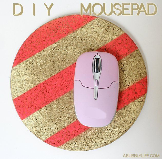 11 Diy Mousepad Ideas To Beautify Your Work Desk - Bd84A0Dc7A0A6411A1F0744E79F558F1