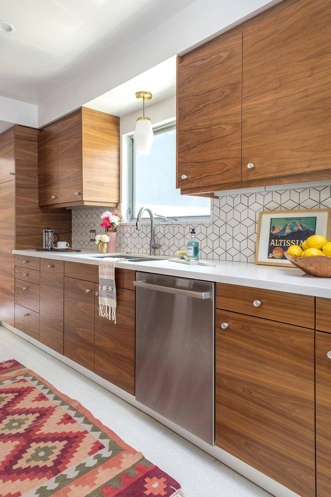 25 Mid Century Modern Kitchen Ideas To Beautify Your Cooking Area - C10F771B6604575660E66C9A82Af8Ed8