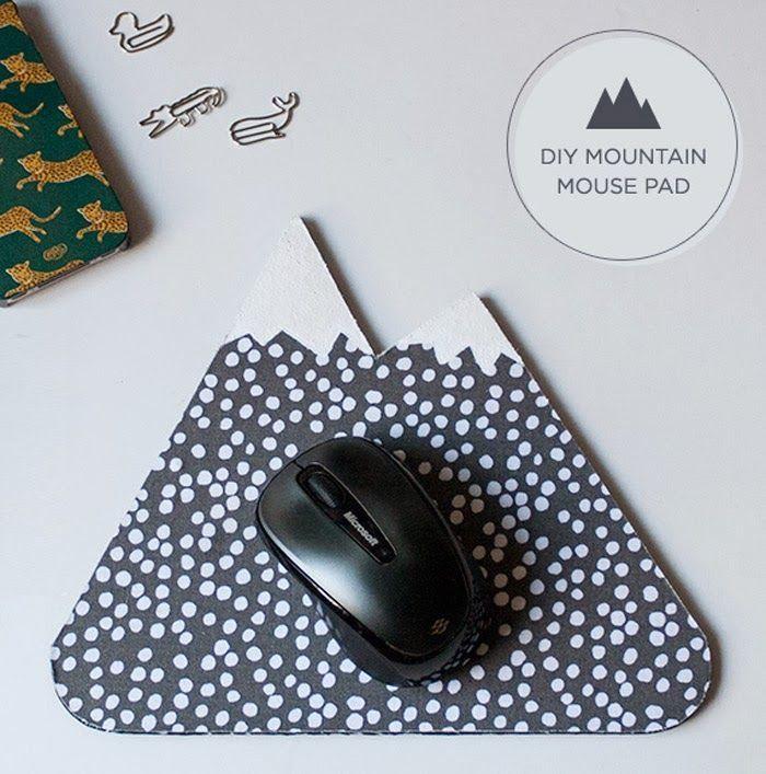 11 Diy Mousepad Ideas To Beautify Your Work Desk - D7D253E79F1Ea5Db0100B55697Fdd2F6