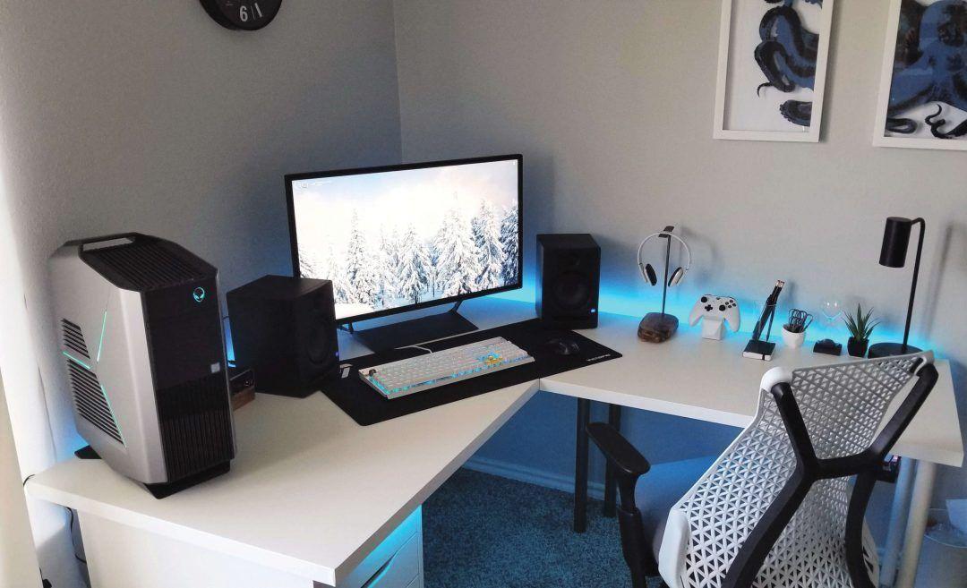 11 Diy Gaming Desk Ideas That Are Easy To Make - Dfff4Ef8A956E33F03E2Ac677E35164A