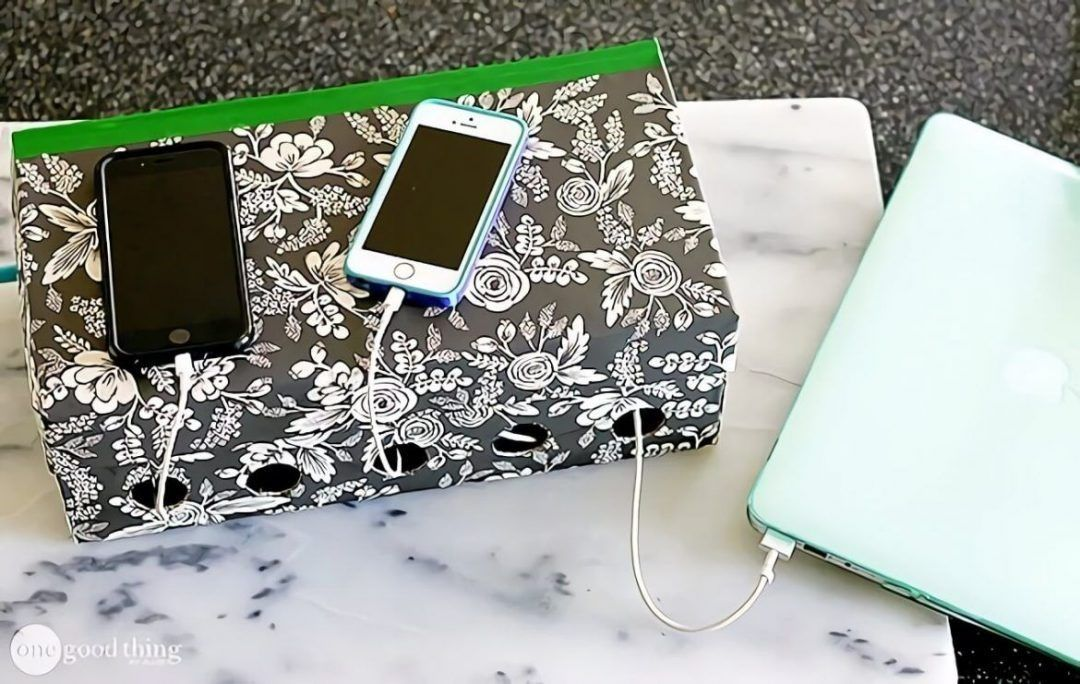 11 Diy Charging Station That Are Easy To Make - E49082308D0C06F68B9Cbdd469672Cab