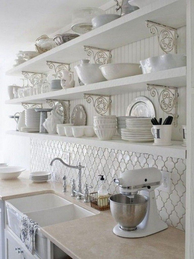 25 Lovely Shabby Chic Kitchen Ideas (Striking Rooms For Cooking) - E510Ba99292369De38A6971Eb4B223Ca