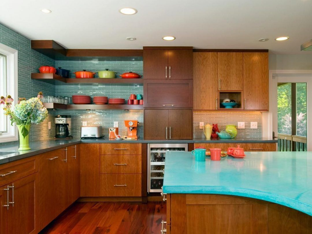 25 Mid Century Modern Kitchen Ideas To Beautify Your Cooking Area - E96B7E959851D122395F5F3Bf44193Ee
