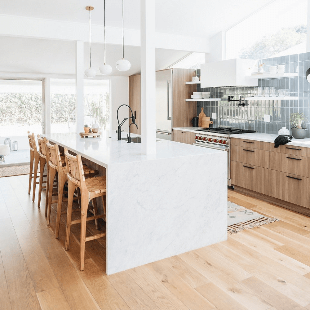 25 Mid Century Modern Kitchen Ideas To Beautify Your Cooking Area - Eb2F886923521D51775370D5Fa53Aebd