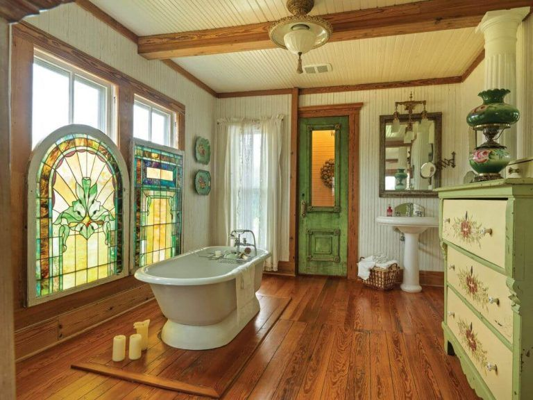 25 Stunning Shabby Chic Bathroom Designs That Will Adore You - Ee71A4Dc7F460210C0184Eed6Fe88Dac
