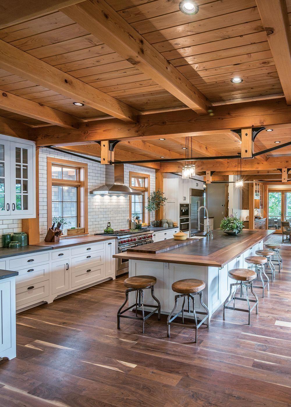 25 Stress-Free Rustic Kitchen Ideas (All Are Marvellous!) - Ef397F1B42Cc176F613A0654Bba0Ca7A