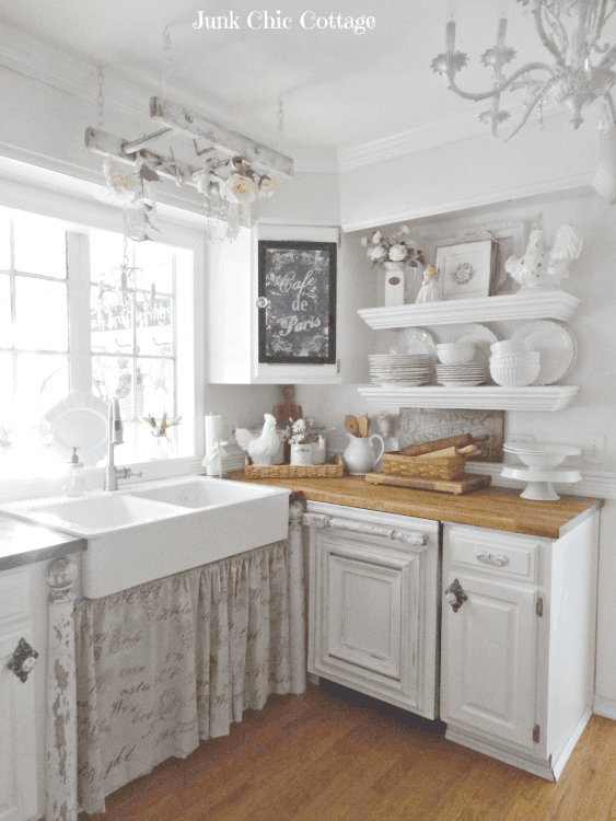 25 Lovely Shabby Chic Kitchen Ideas (Striking Rooms For Cooking) - Ef51A6F4A0Df267Cee66Da87Dc99C799