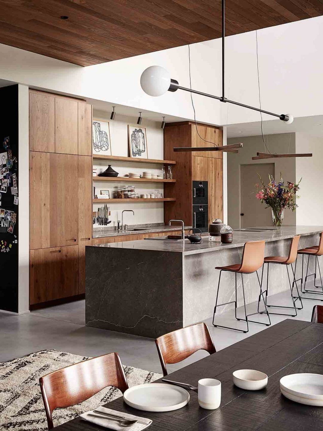 25 Mid Century Modern Kitchen Ideas To Beautify Your Cooking Area - F1F99927C8192Fdf230B39Ce2Fb8E839