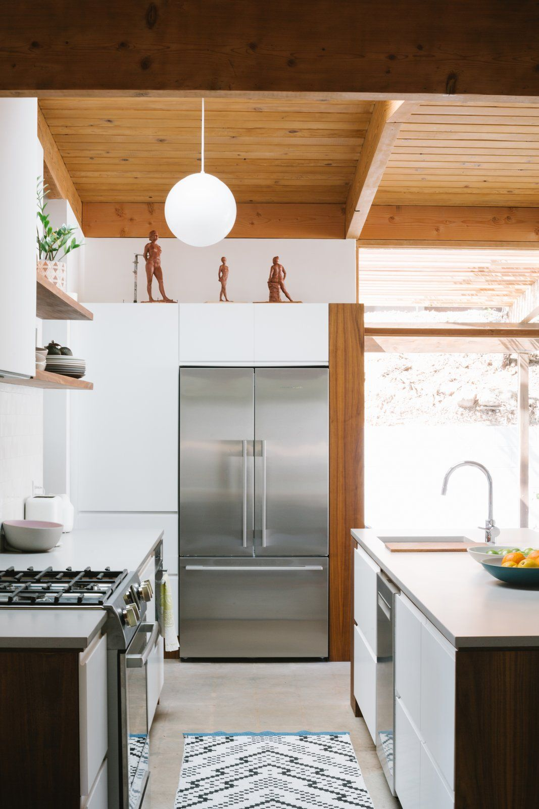 25 Mid Century Modern Kitchen Ideas To Beautify Your Cooking Area - F2A5757Daaa419Bcfcca9033Cc959133