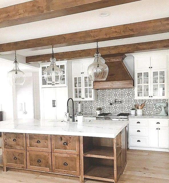 25 Bewildering Farmhouse Kitchen Designs (Traditional Beauties!) - Fb209A96D06D8E5396Bc974A35Ff3042