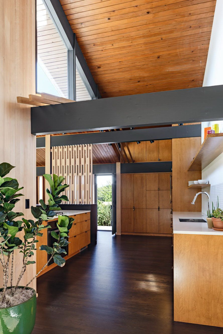 25 Mid Century Modern Kitchen Ideas To Beautify Your Cooking Area - Fb8F701Ba03E58B045Fa4Daa26925Bf9