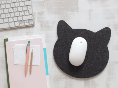 11 Diy Mousepad Ideas To Beautify Your Work Desk