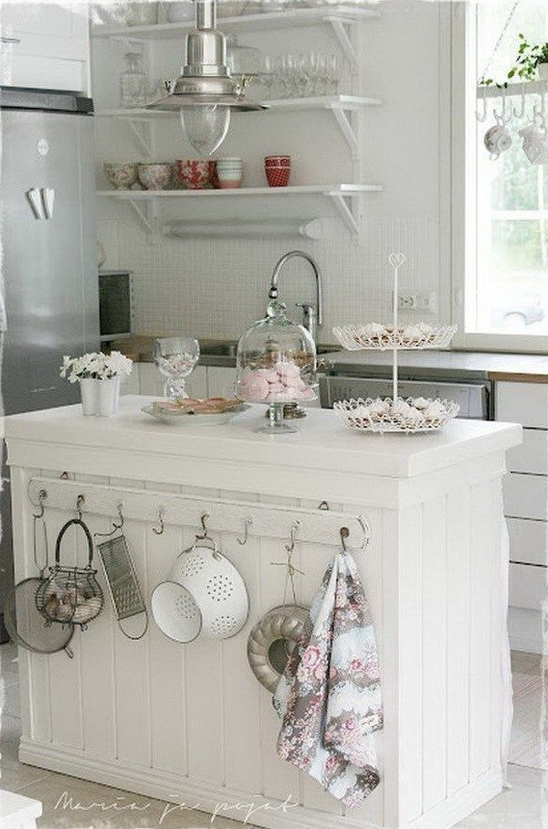 25 Lovely Shabby Chic Kitchen Ideas (Striking Rooms For Cooking) - Fe844Eccc90Bf8C7600118F6026Cc2E0