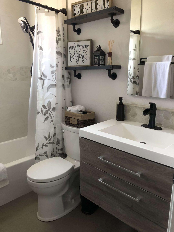 25 Farmhouse Bathroom Ideas For Bathroom Remodel - M1