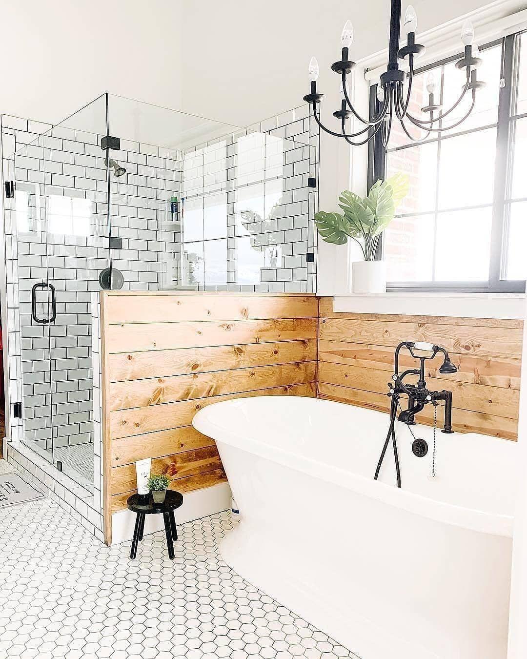 25 Farmhouse Bathroom Ideas For Bathroom Remodel - M12