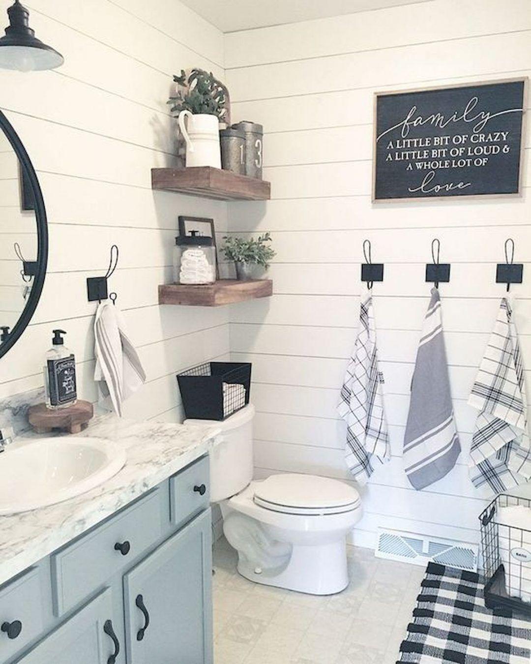 25 Farmhouse Bathroom Ideas For Bathroom Remodel - M15
