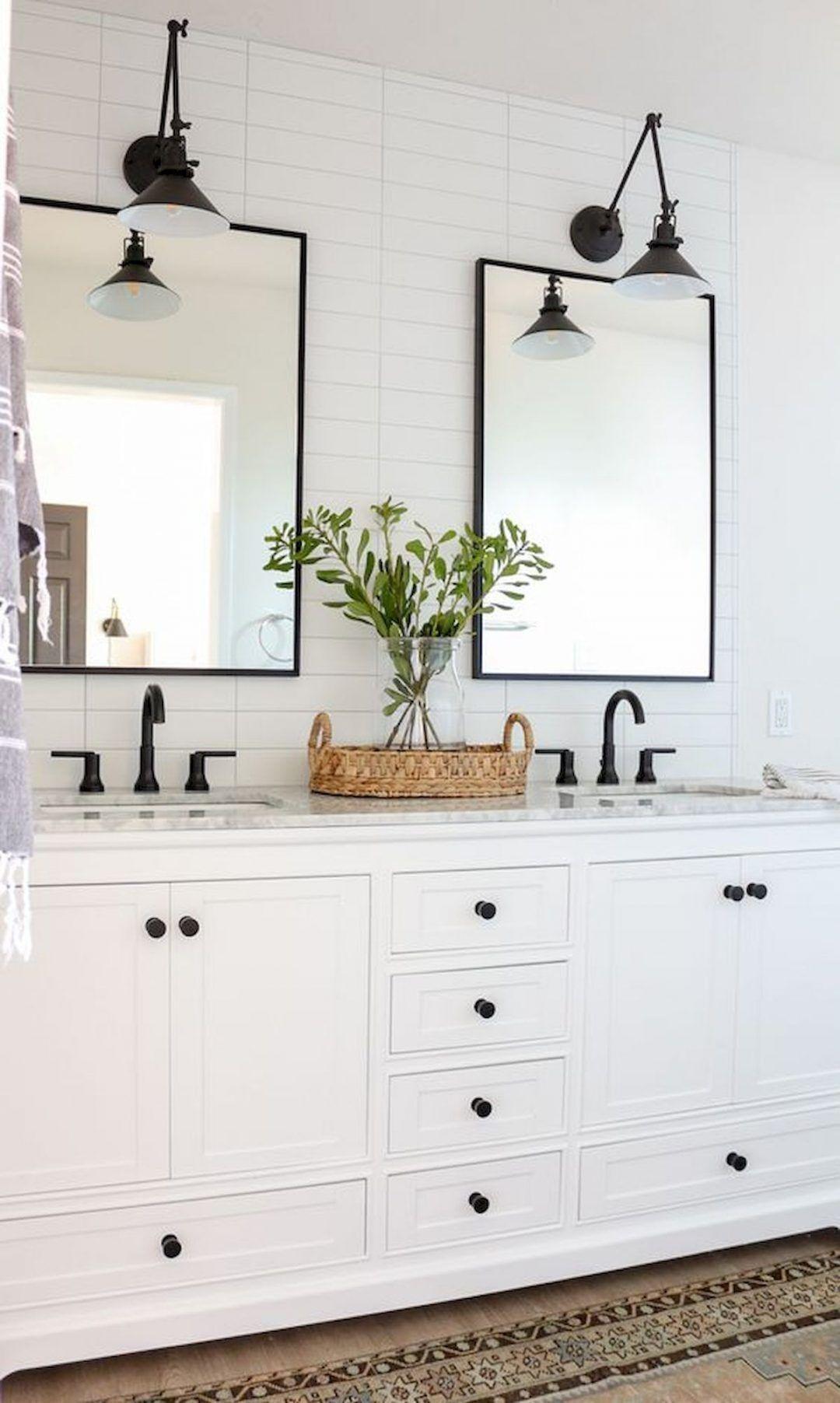 25 Farmhouse Bathroom Ideas For Bathroom Remodel - M18