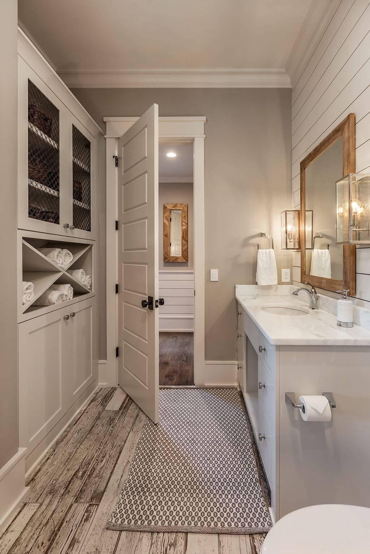 25 Farmhouse Bathroom Ideas For Bathroom Remodel - M19