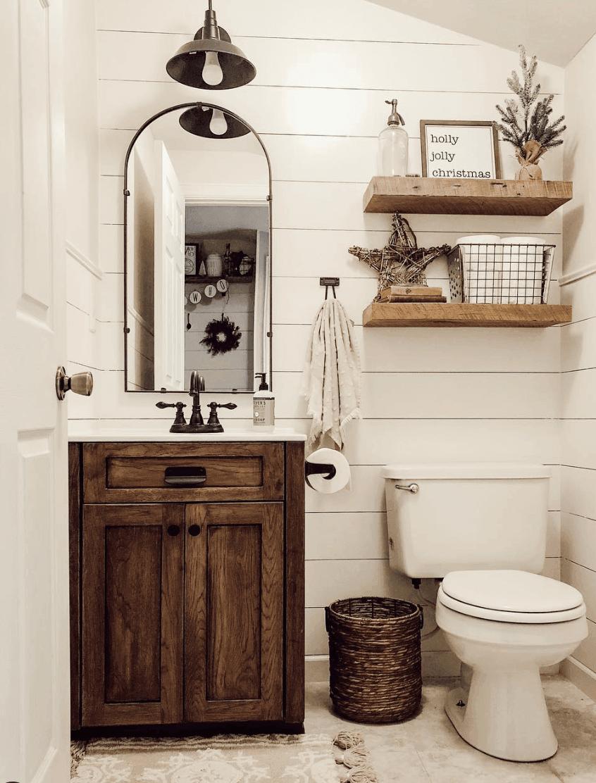 25 Farmhouse Bathroom Ideas For Bathroom Remodel - M2