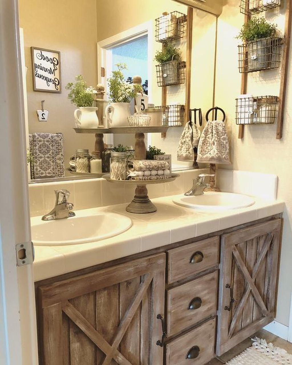 25 Farmhouse Bathroom Ideas For Bathroom Remodel - M22