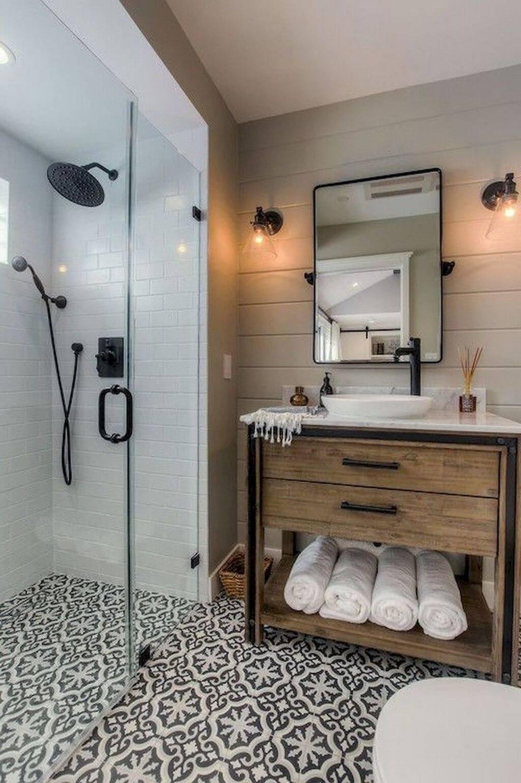 25 Farmhouse Bathroom Ideas For Bathroom Remodel - M23