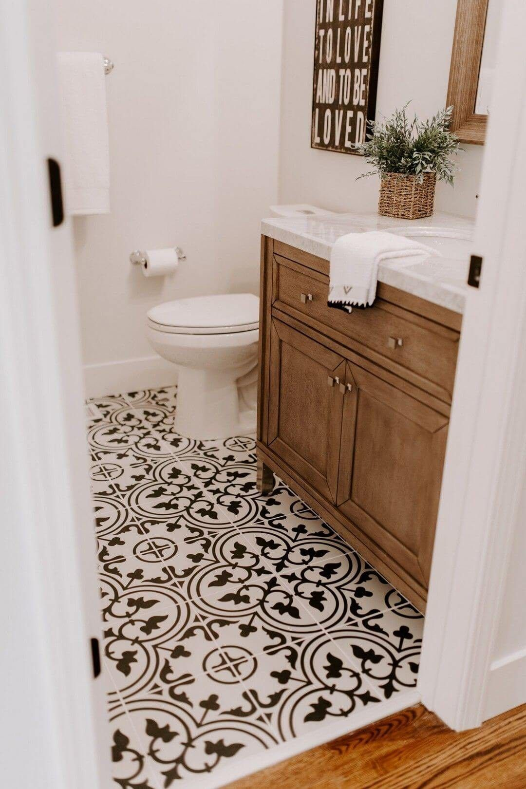25 Farmhouse Bathroom Ideas For Bathroom Remodel - M24