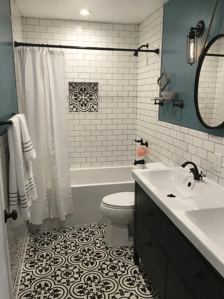 25 Farmhouse Bathroom Ideas For Bathroom Remodel - M4