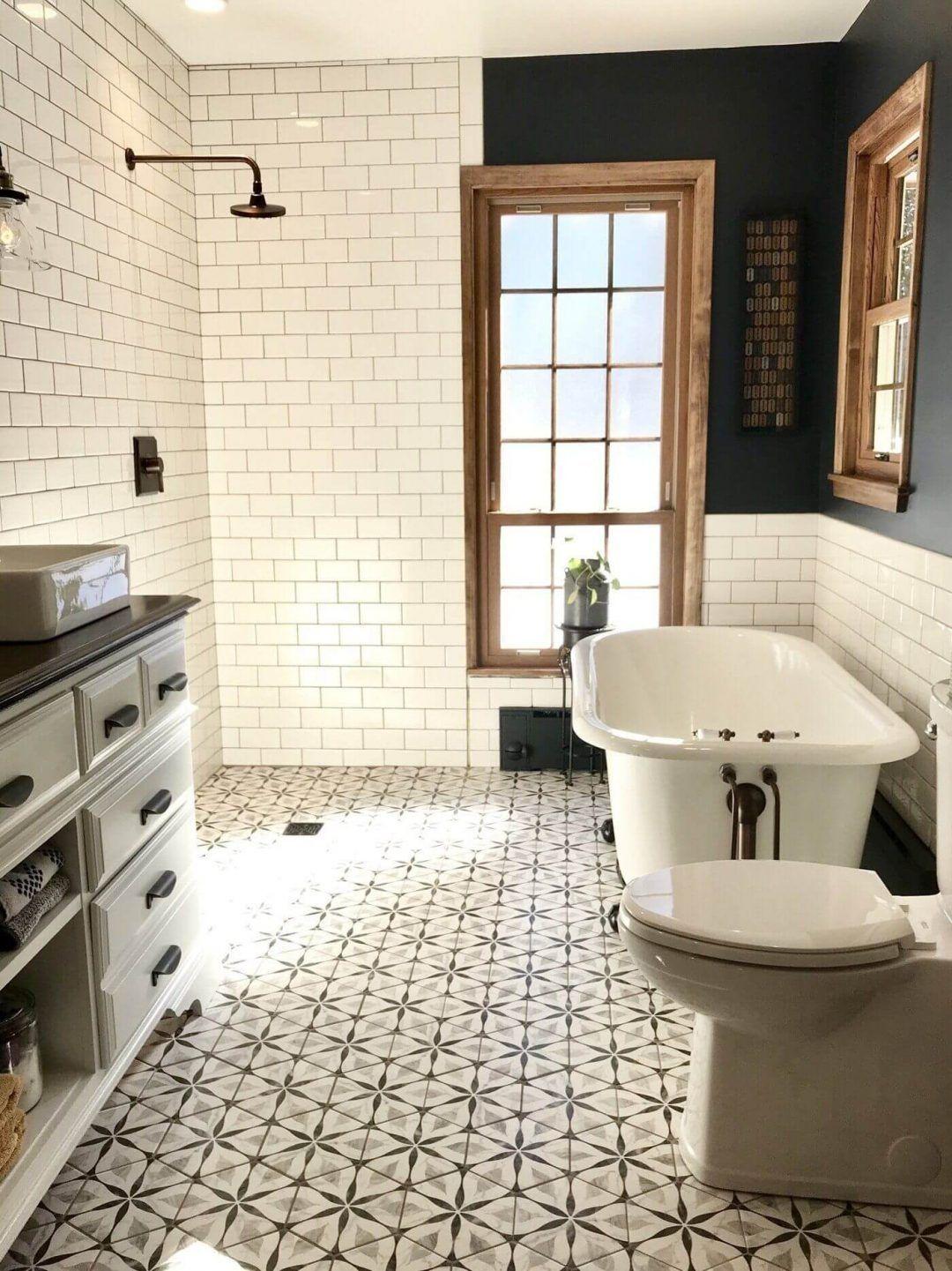 25 Farmhouse Bathroom Ideas For Bathroom Remodel - M9
