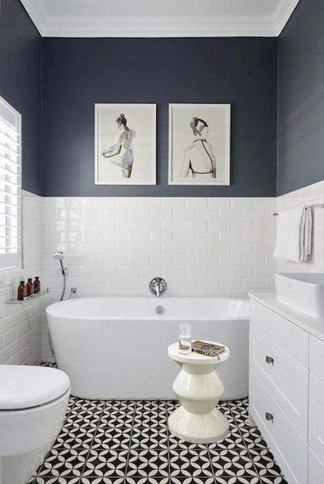 25 Tranquil Scandinavian Bathroom Decor To Get Rid Of Daily Stress - N14