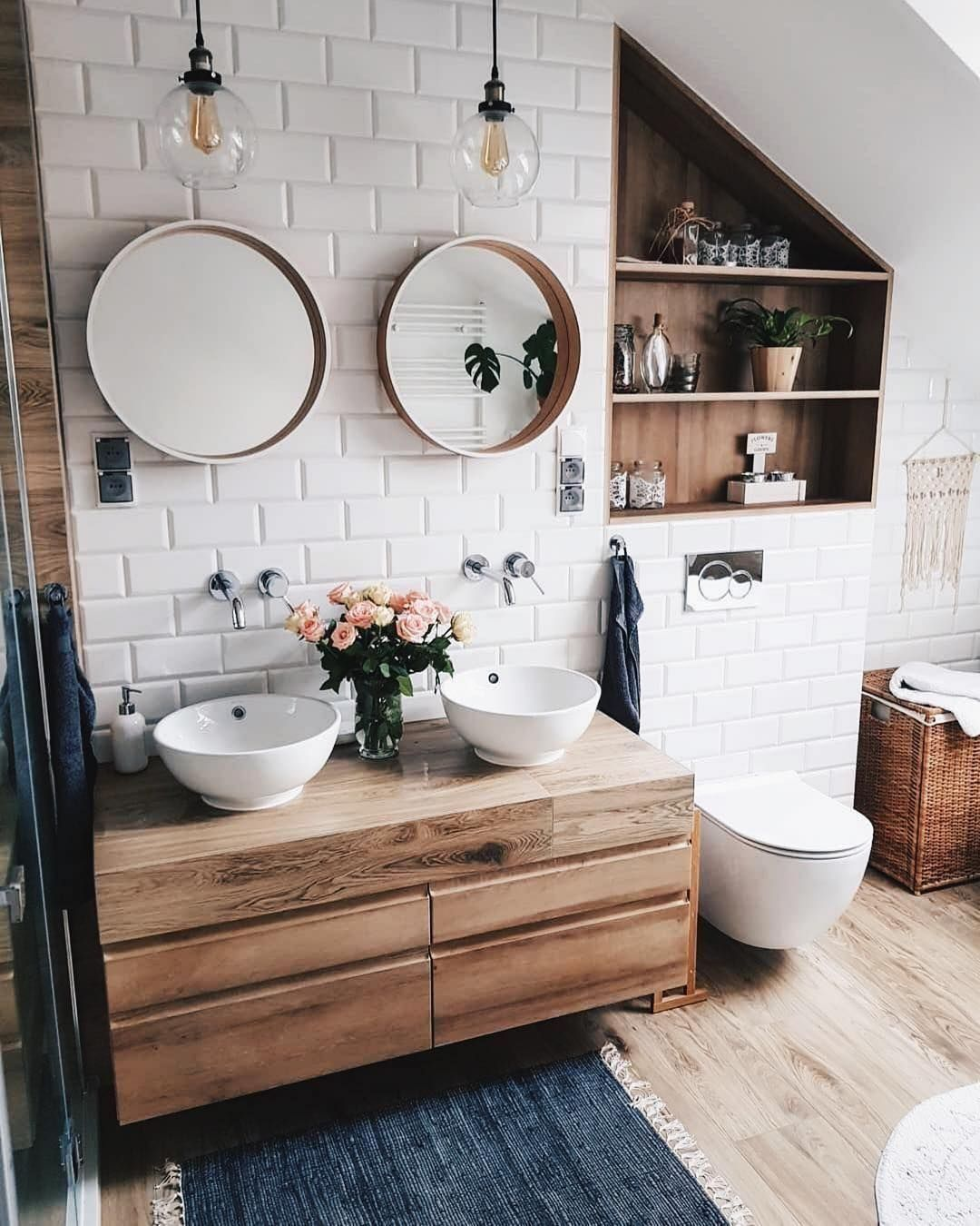 25 Tranquil Scandinavian Bathroom Decor To Get Rid Of Daily Stress - N15