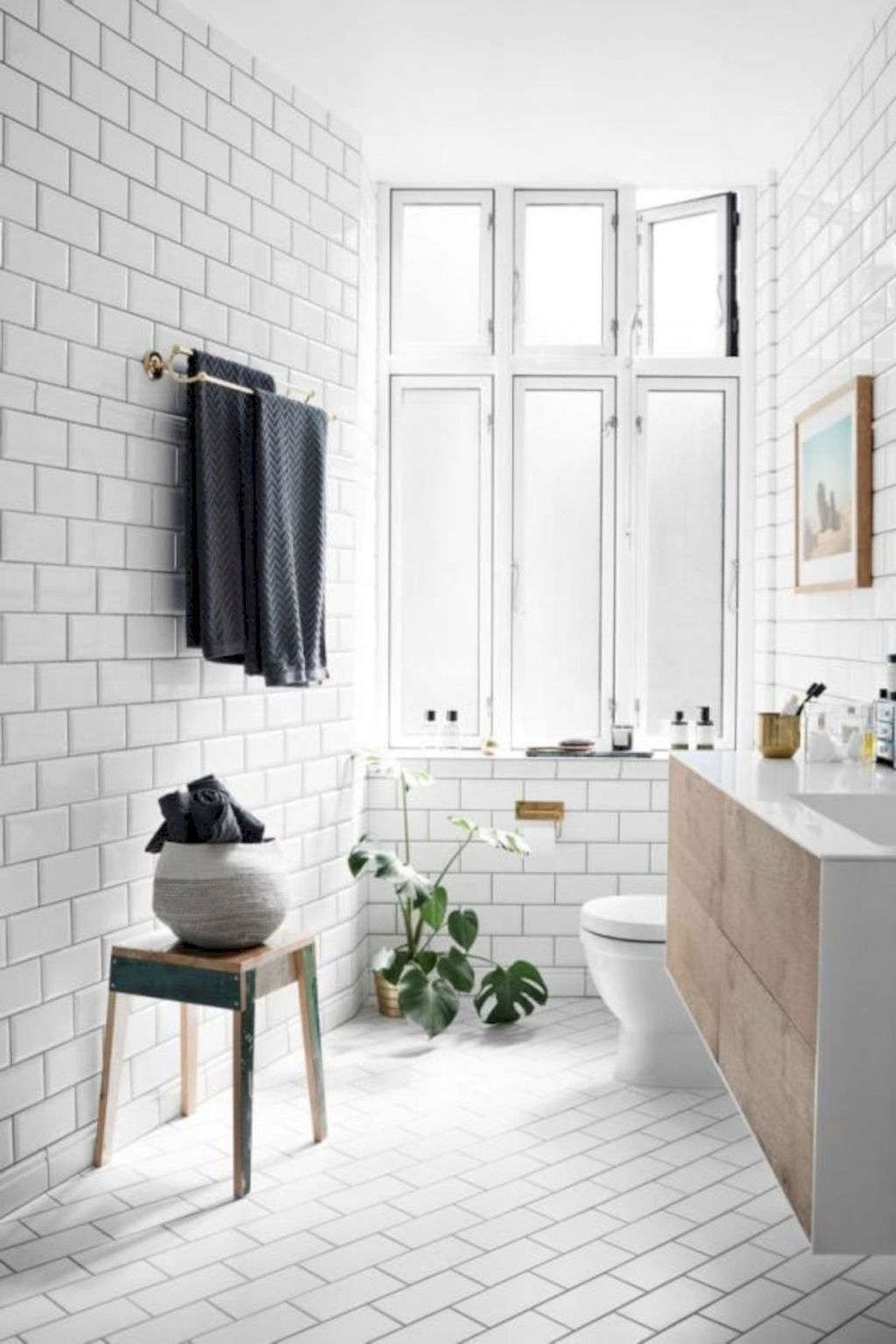 25 Tranquil Scandinavian Bathroom Decor To Get Rid Of Daily Stress - N21