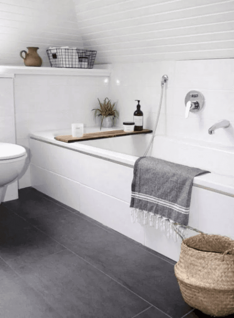 25 Tranquil Scandinavian Bathroom Decor To Get Rid Of Daily Stress - N5