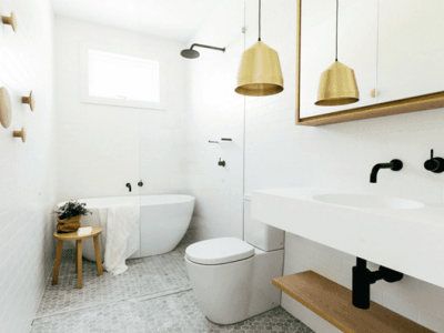 25 Tranquil Scandinavian Bathroom Decor To Get Rid Of Daily Stress