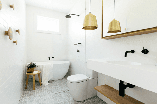 25 Tranquil Scandinavian Bathroom Decor To Get Rid Of Daily Stress - N6