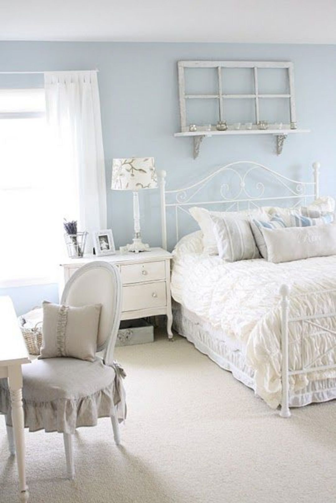25 Fashionable Shabby Chic Bedroom (All Are Stylish!) - Q16