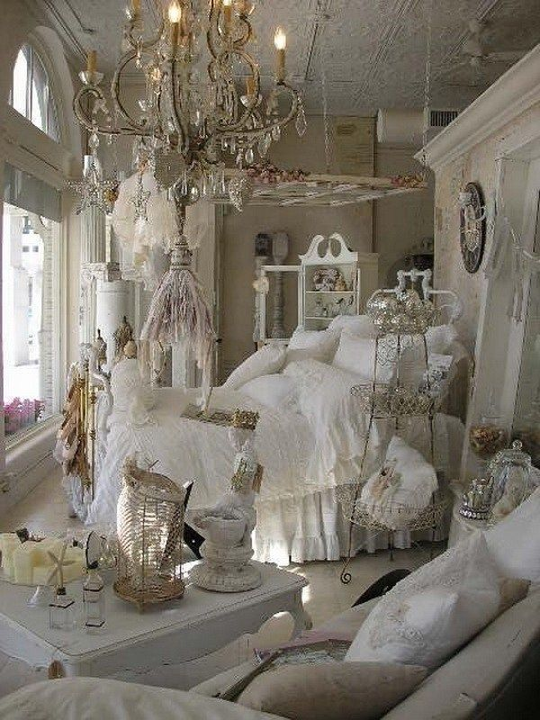 25 Fashionable Shabby Chic Bedroom (All Are Stylish!) - Q23