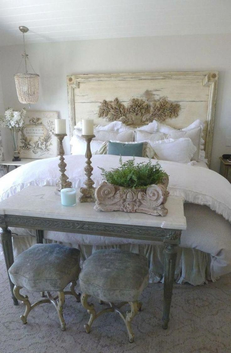 25 Fashionable Shabby Chic Bedroom (All Are Stylish!) - Q25