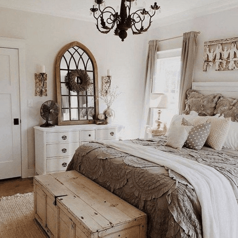 25 Fashionable Shabby Chic Bedroom (All Are Stylish!) - Q4