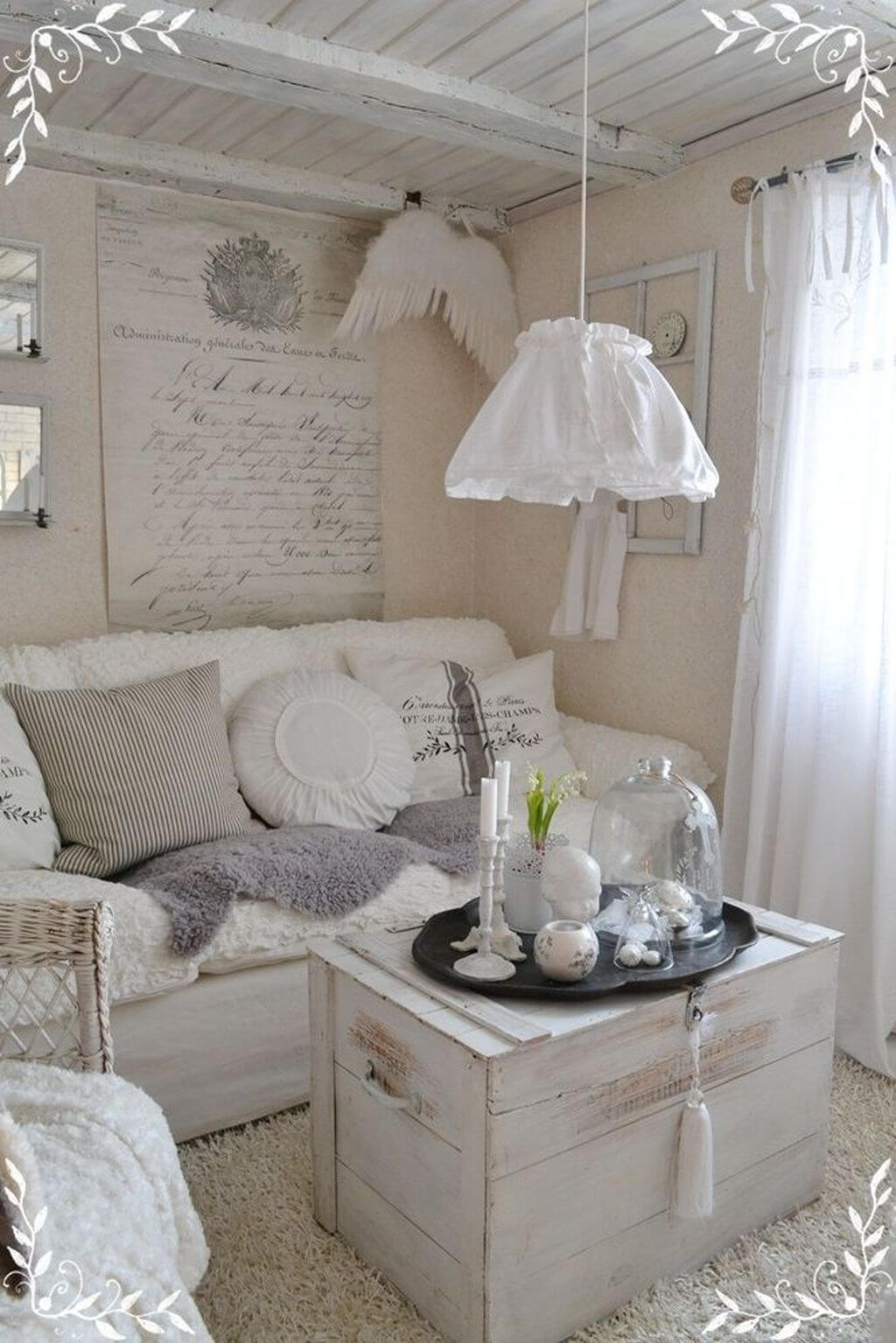 25 Fashionable Shabby Chic Bedroom (All Are Stylish!) - Q5