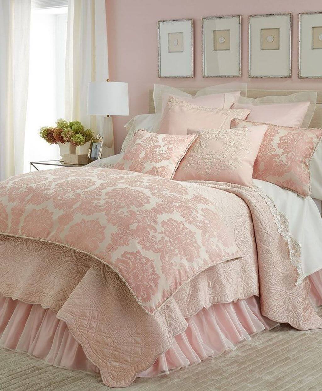 25 Fashionable Shabby Chic Bedroom (All Are Stylish!) - Q6
