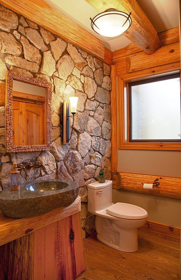 25 Cozy Rustic Bathroom Decor To Guide Your Renovation - W11