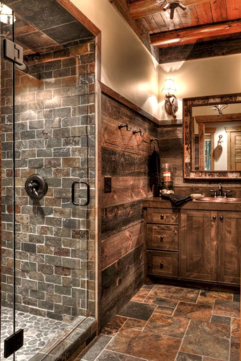 25 Cozy Rustic Bathroom Decor To Guide Your Renovation - W12