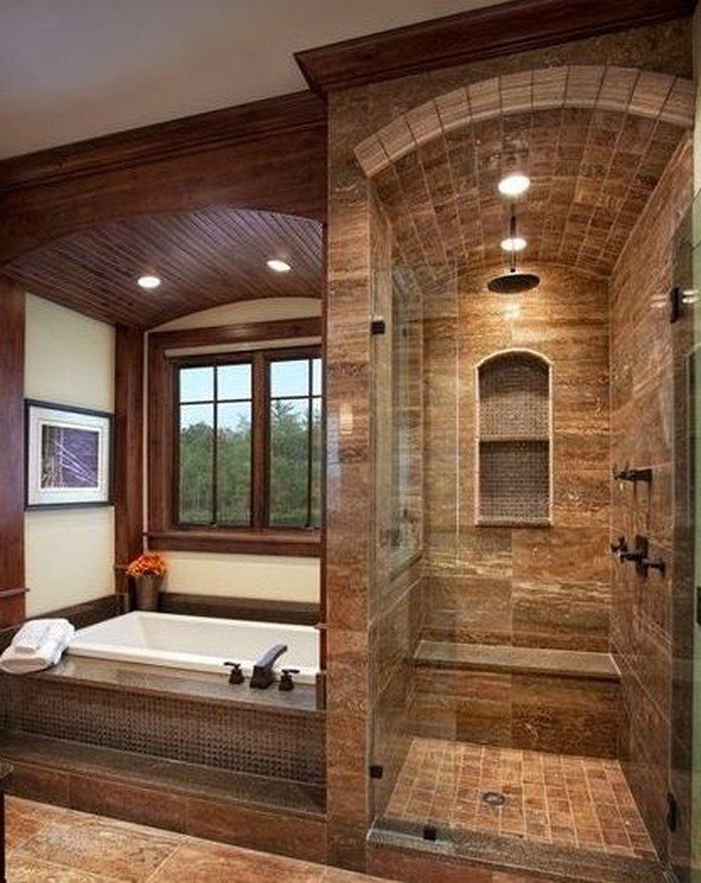 25 Cozy Rustic Bathroom Decor To Guide Your Renovation - W13