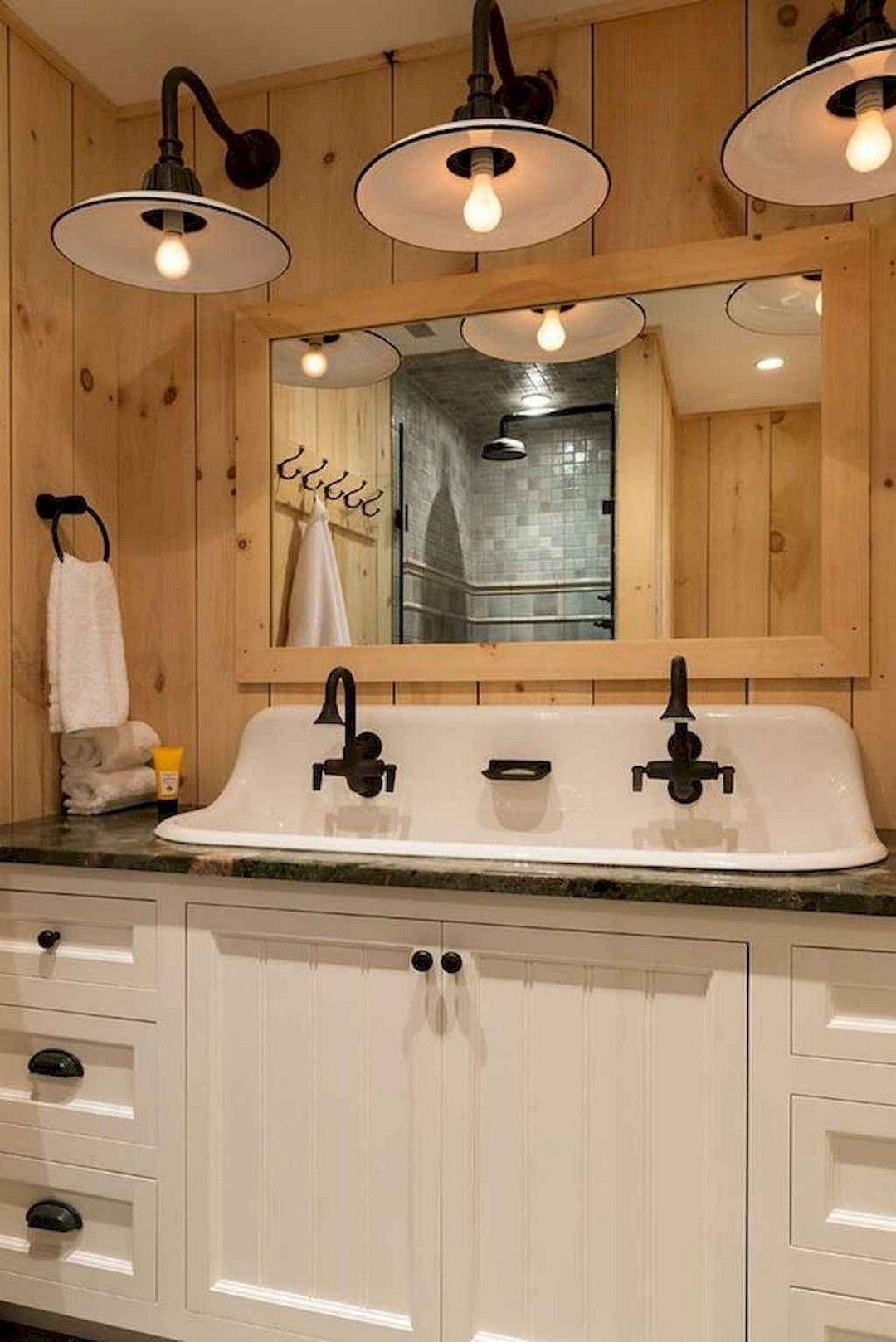 25 Cozy Rustic Bathroom Decor To Guide Your Renovation - W14