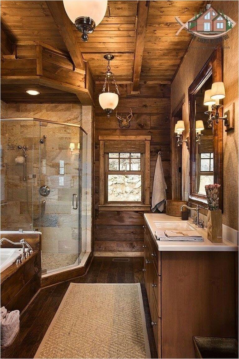25 Cozy Rustic Bathroom Decor To Guide Your Renovation - W15